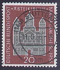 Goldhahn BRD Nr. 238 gestempelt Maria Laach- Briefmarken für Sammler