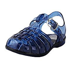 Stepping Stones Boys Fisherman Style Jelly Sandals Boys Blue Sandals Baby Boys Sandals Sizes 6 Infant