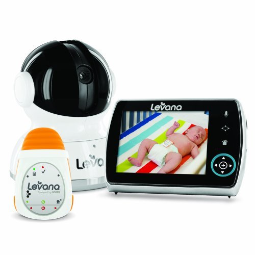 Levana Keera Digital Baby Video Monitor With Oma Portable Baby Movement Monitor System front-514427