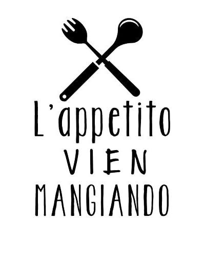 Ambiance Live Vinilo Decorativo L'Appetito Vien Mangiando