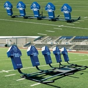 Pro Down 5 Man Youth Sled with Royal Pro Pads (5 Man Football Sled compare prices)