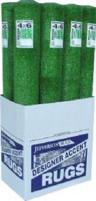 4x6 GRN Grass Area Rug