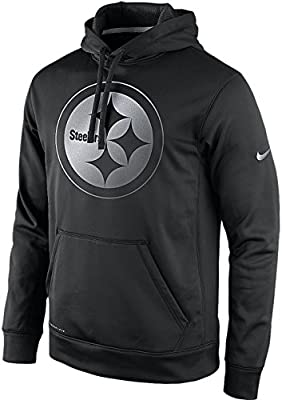 Nike Pittsburgh Steelers Reflective KO Therma-Fit Performance Pullover Hoodie