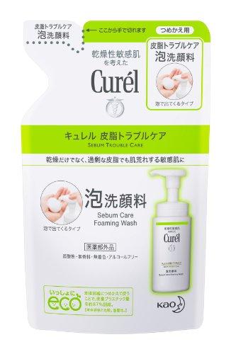 キュレル 皮脂トラブルケア泡洗顔 かえ 130ml
