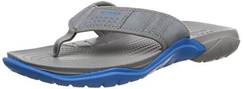 Crocs Swiftwater M,  Grigio Grey (Graphite/Ultramarine) 42-43