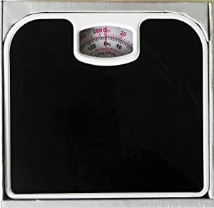 Bathroom Scale Black Anti Slip (12 Pack) [Kitchen]