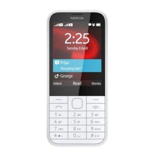 Nokia 225 Dual SIM bianco (importato da Germania)