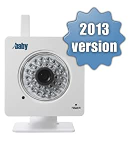 WiFi Baby 2.0 - Wireless iPhone, iPad, Android, Baby Monitor & Nanny Cam DVR. Video, Audio, Recording. Anywhere. Same look, New Features (WFB2013)