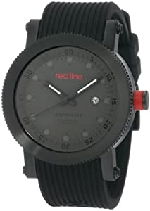 red line Men's 18001-014-BB Compressor Collection Watch