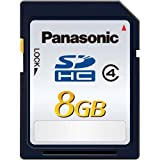 Panasonic 8GB SDHCメモリーカード CLASS4 RP-SDLB08GJK