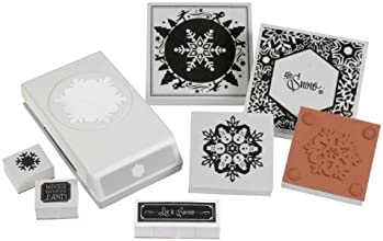 EK tools Punch Pairing for Arts and Craft Winter Snowflake