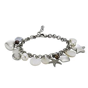 Zeeme - 389060179 - Bracelet Femme - Acier Inoxydable 29.0 Gr