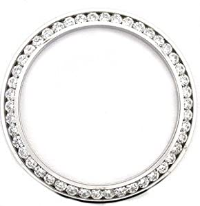 Midsize 1.40ct Diamond Bezel 14kw for Rolex Watch 31mm