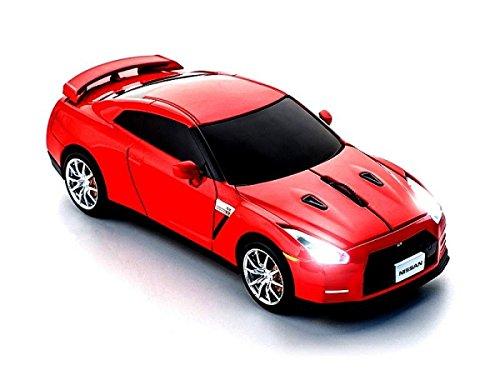 click-car-mouse-souris-sans-fil-24-ghz-nissan-gt-r-r35-rouge