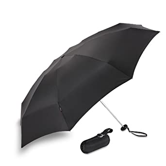 Knirps Luggage X1 Umbrella, Black, Small