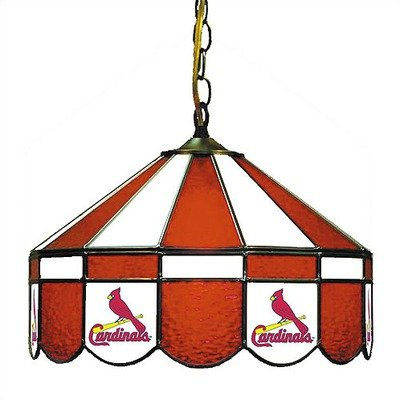 MLB Team Logo Stained Glass Pub Light Team: St. Louis Cardinals, Style: Direct Wire at Amazon.com
