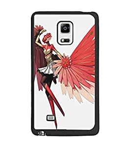 PrintDhaba Cartoon D-5377 Back Case Cover for SAMSUNG GALAXY NOTE 4 EDGE (Multi-Coloured)