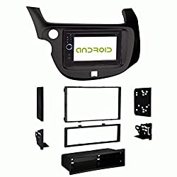 See OTTONAVI Honda Fit 2009 and up In-Dash Double Din Android Multimedia K-Series Navigation Radio with Complete Kit Details
