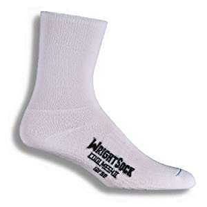 Wrightsock Coolmesh II Crew Running Socks - 2 Pack