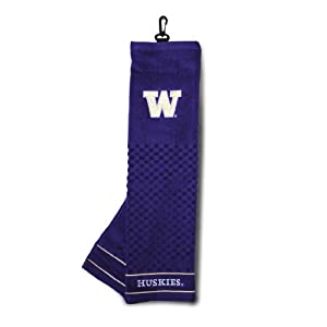 Washington Huskies Embroidered Towel from Team Golf