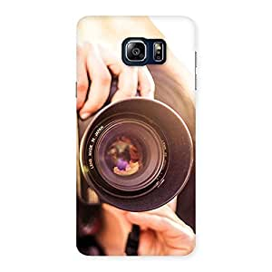 Gorgeous Premier Camera Multicolor Back Case Cover for Galaxy Note 5