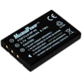 Maximal Power DB FUJ NP60 Replacement Battery for Fuji NP-60 for Camera