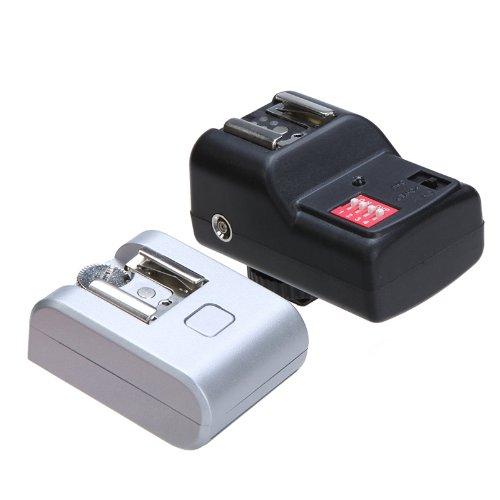 Andoer 16 Canaux avec l'adaptateur du sabot haud pour les flashes extérieurs /Trigger de flash sans fil avec récepteur pour Sony NEX3 NEX5N 16