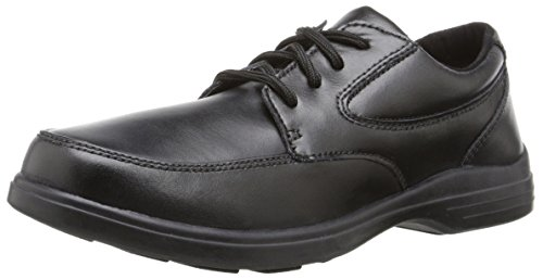 Hush Puppies TY Uniform Dress Shoe (Toddler/Little Kid/Big Kid), Black, 2 W US Little Kid (Hush Puppies Shoes Kids compare prices)