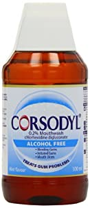 Corsodyl Antibacterial Mouthwash Alcohol Free 300ml