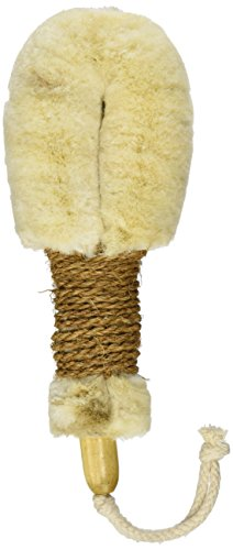 "Merben International Soft Texture Jute Body Brush with Brown Handle For Dry Use Only, 9"" Length"