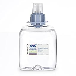 Purell 5191-03 Green Certified Instant Hand Sanitizer Foam, 1200 mL FMX Refill (Case of 3)
