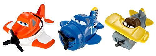 Disney Planes Micro Drifters Skipper, Leadbottom and Dusty Vehicle 3-Pack - 1
