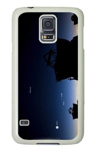 Samsung Galaxy S5 Pc White Hard Case Telescope