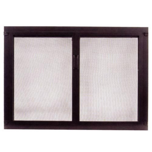 Minuteman Intl. Single Panel Shaker Glass Fireplace