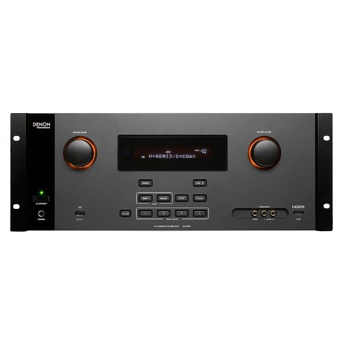 Denon Av Surround Pre-Amplifier, 10Hz - 100Khz Frequency Response, 100 Db Signal-To-Noise Ratio,