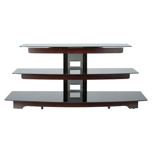 Cheap Basic Foundations 50 Three Shelf Flat-Panel TV Stand (BFAV550CH)