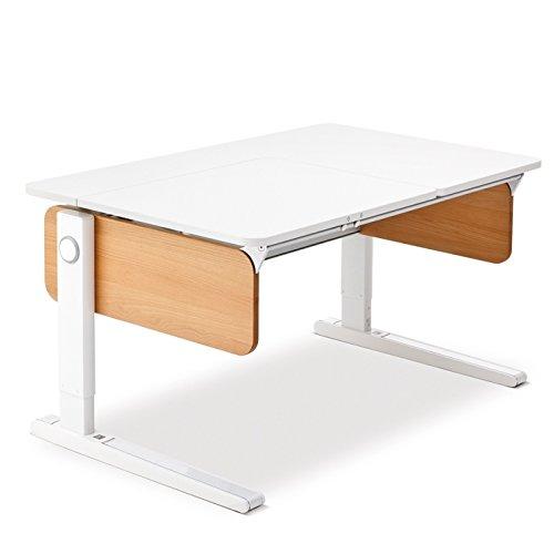 Moll Champion Style Front Up Schreibtisch | buchedekor | 120 x 72 x 53-82 cm (Breite x Tiefe x Höhe) | höhenverstellbar online bestellen