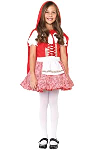 Lil' Miss Red Girls Halloween Costume