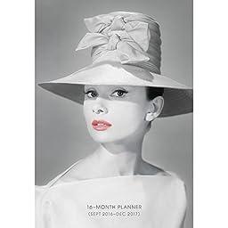 Graphique 2017 Audrey Hepburn, Agenda Calendar (AP571117)
