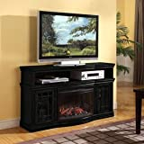 Muskoka Dwyer Espresso Electric Fireplace Media Console
