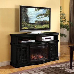 Muskoka Dwyer Espresso Electric Fireplace Media Console image B00FOABEGA.jpg