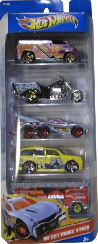 Hot Wheels Hw City Works 5-Pack - 1