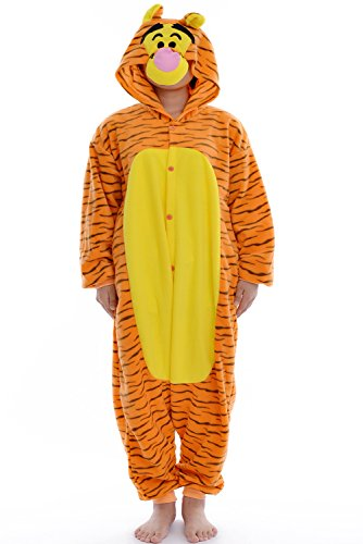 DAYAN Pajamas Anime Costume Adult Animal Onesie Tigger Cosplay