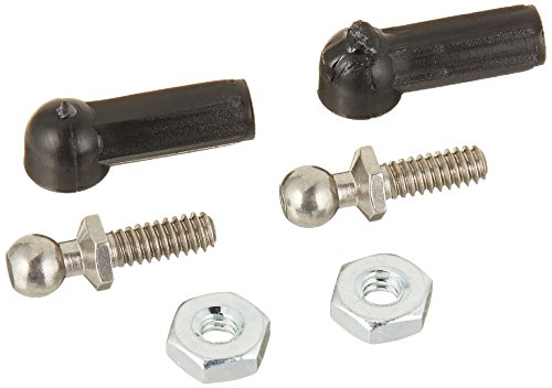 Team Associated 6273 Long Ballstud with 0.17 Ball Male 4-40 Thread