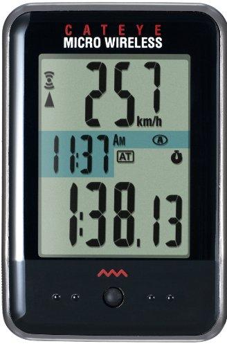 Cateye Micro Wireless Bicycle Computer Cc-Mc200W (Black)