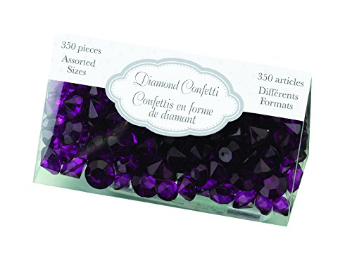 Lillian Rose Diamond Confetti, Purple