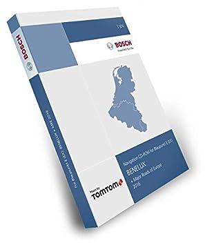 Blaupunkt-tel atlas tomTom benelux travelPilot e (eX) 2016 (2 cD major roads of europe