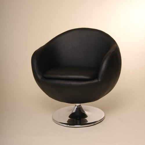LOUNGE DESIGN CHAIR retro dining  &  office furniture surgery stool C21 black
