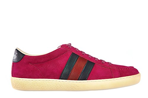 gucci damenschuhe turnschuhe damen wildleder schuhe sneakers fuxia eu 37 338923 ckka0 5564. Black Bedroom Furniture Sets. Home Design Ideas