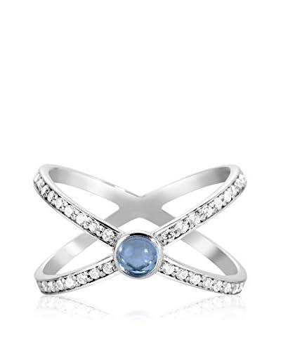 DI GIORGIO PARIS Ring R1360-Lon rhodiniertes Silber 925